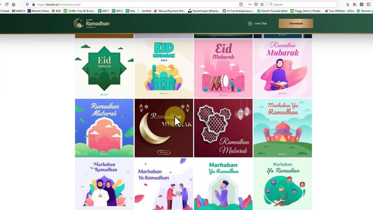 Cara Membuat Video Iklan Produk Tema Ramadhan Paling Mudah Cahbisnis